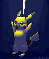 SSBB: Pikachu Use Thunder by Cannibal-Pie-Chan