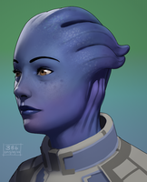Liara by Floatharr