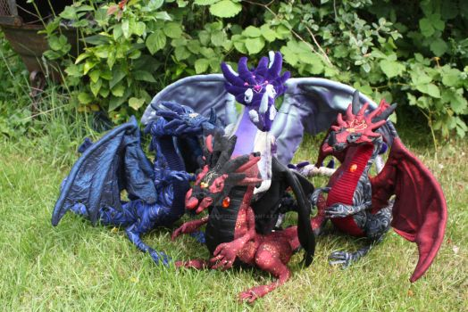 Dragon sewing pattern SALE!!!! by DragonForge311088