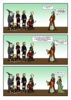 LOTR 02 -  Before the Fellowship Go.. by Choppic