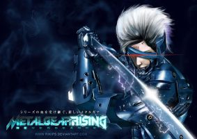 Raiden Metal Gear Rising Revengeance by rikips