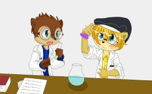 Lab Partners by TheChipMunksFan