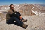 Me on Mt. Langley Summit by narmansk8