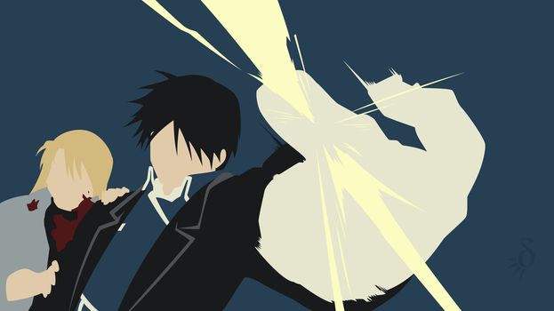 [Request] FMA - Roy Mustang and Riza Hawkeye by Krukmeister