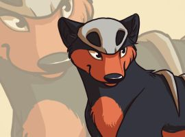 Houndour by wolfpup026