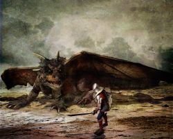 George and the Dragon by ChrisRawlins