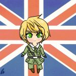 Chibi England by StarValerian