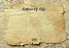 12951599-Vintage-background-with-old-paper-and-let by Lilpie101
