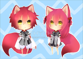 adopt 8-9: Twins! CLOSED by kobake