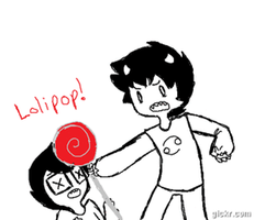 DONT GIVE KARKAT LOLIPOPS by Blueshadow54