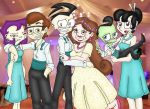 D x M Wedding: Everybody Smile! in color by Invader-Sam
