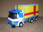 LEGO Delivery Truck by KidChimera00