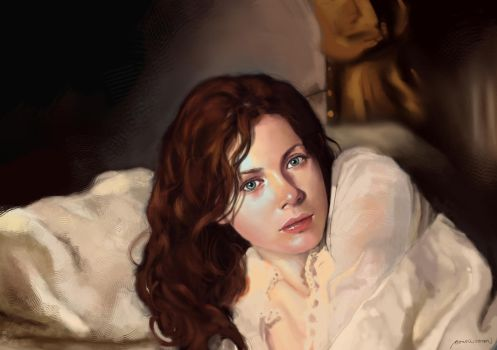 pretty rachel hurd wood by MewmewUniverse