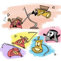 The Brave Little Toaster, doodles 4 by Ayej