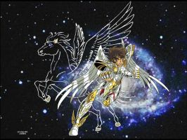 God cloth Pegasus by FaGian