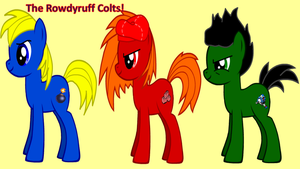 The Rowdyruff Colts! by AdvanceArcy