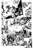 Tf Cybertronians Page 3 Inked By Shatteredglas by kishiaku