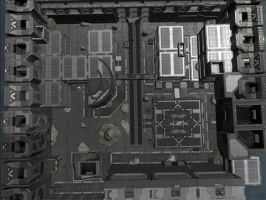 Halo Map: Dissection Court by KindiChan