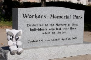 Workers' Memorial - NM by fetish-erotica