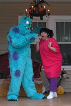 Sulley and Boo by Nigh-Eve