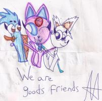 .:We are good friends:. by espeonhappy040900