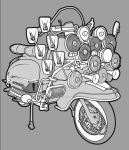 series one lambretta by amoebabloke
