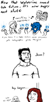 WOLVERINE, YOU CREATED A TIME PARADOX *SPOILERS* by hurricane128