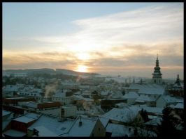 Winter town by What-is-worth