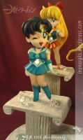 SD Sailor Scouts 4 by LeonasWorkshop