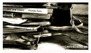 bye2 ma books . . . by aiamsaiour