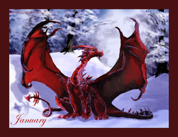 January - Garnet - 2008 by WindSeeker