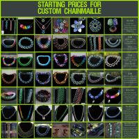 Chainmaille Price Guide - 11.2012 by Ichi-Black