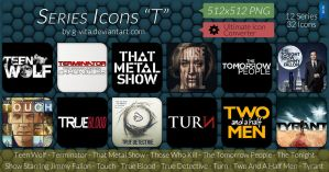 TV Series Icons T by g-Vita