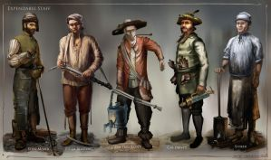 La Revolution 1625 Expendable Staff by dsorokin755