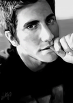 Jake Gyllenhaal by MartyIsi