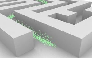 Particle Maze :Green: by LockeEx