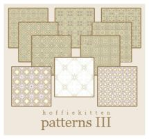 patterns III by koffiekitten