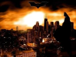 Batman Begins - Gotham City by PolishTank48