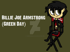 Billie Joe Armstrong doodle by TheWingedSkeleton