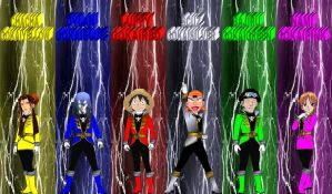 Anime Pirates Gokaiger for Andr-Uril by rangeranime