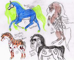 Horse Designs 28 -point trade- by joelieisqueen