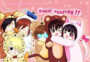 the GazettE~~Kawaii Cosplay~~ by kemalamalax3