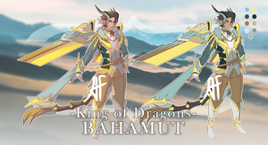 Bahamut, King of Dragons (R1 Version) by 3-X-E