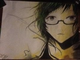 Glasses Girl by DLuffy14