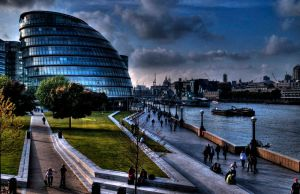 Hdr London City Hall by Jules-bonnot