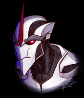 Starscream by AnArtistCalledRed