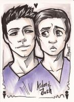Being Human US - ACEO by dauntingfire