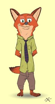 Nick (Zootopia) #2 by The-Zeid