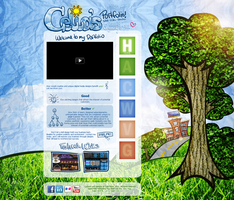 My Website Portfolio Design 2012 by CeliaPhantomhive