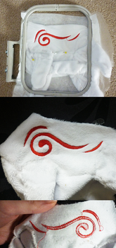 HOW TO: Embroider textured fabrics by goiku